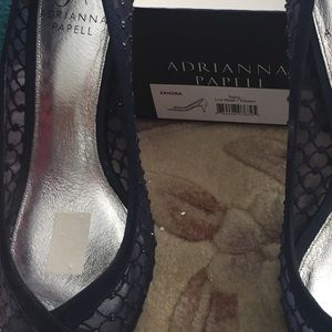 Adrianna Papelli dress shoes. Navy. Almost new.